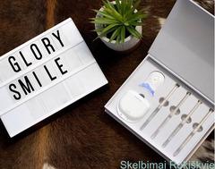 Glory Smile Dantų Balinimo Rinkiniai Be Peroksido