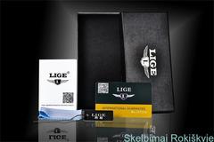 LIGE patraukli klasika nat odos dirželiu firminėje dėžutėje