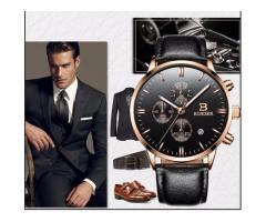 BINGER gražus solidus šveicariško lygio laikrodis