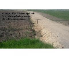 juodzemis, augalinis sluoksnis, zvyras, smelis, skalda, atsijos 860625738 Vilnius Racioko nuoma