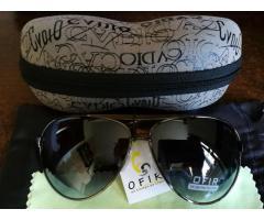 VEITHDIA patrauklūs kokybiški polerizuoti akiniai dėkle