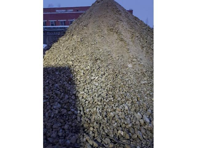 Smulkintas betono skalda