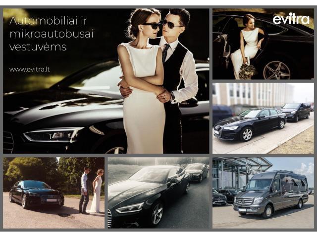 Mikroautobusų ir automobilių nuoma vestuvėms