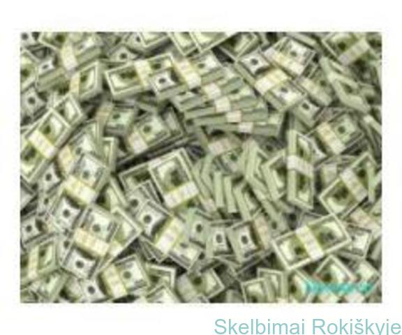 Siūlome 100% pinigų su tikrai mažomis palūkanomis